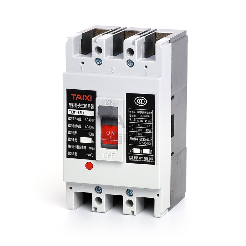 CM1-100 MCCB Schalter & 800A / 1000A Leistungsschalter - TAIXI Electric